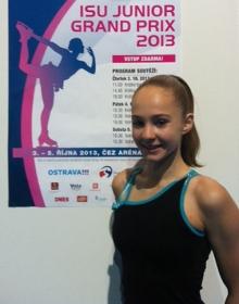 Alicia võistles Junior GP etapil Ostravas