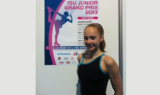 Alicia võistles Junior GP etapil Ostravas